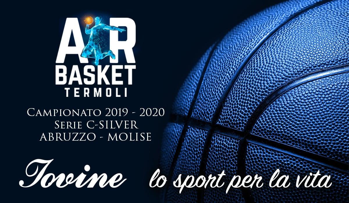 Sponsorizzazione Air Basket Termoli Campionato 2019-2020 Serie C-Silver - ABRUZZO MOLISE