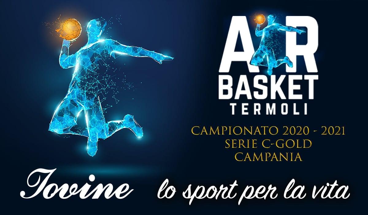 Sponsorizzazione Air Basket Termoli Campionato 2020-2021 Serie C-Gold - CAMPANIA